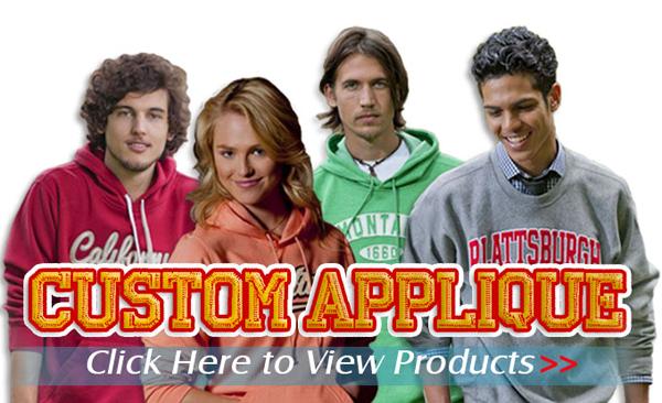Custom Applique Sweatshirts