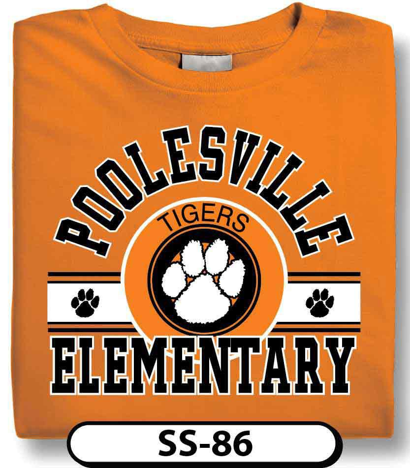 Design Custom Elementary Designs T-Shirts Online by Spiritwear