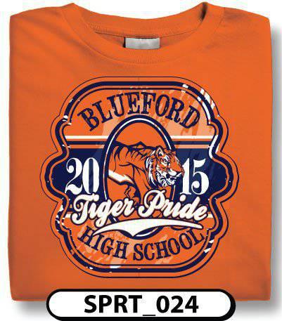 design custom high school t shirts online by spiritwear