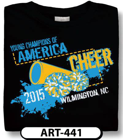 request a free proof - Cheer Shirt Design Ideas