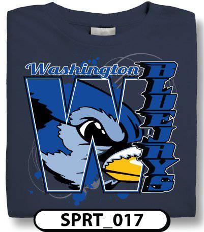 design custom best sellers t shirts online by spiritwear - Football T Shirt Design Ideas