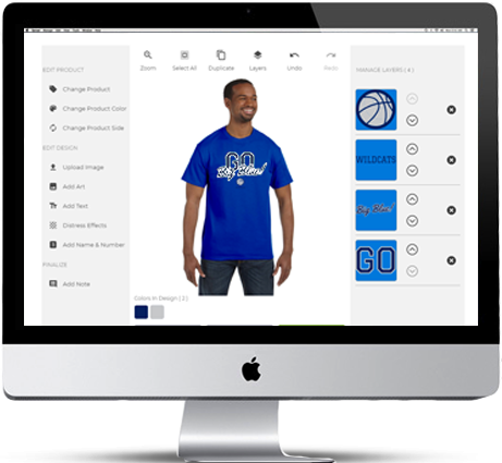 258b150538b7d Design Custom T-Shirts & MoreCreate your own custom designed t-shirt for  your school, business or group.
