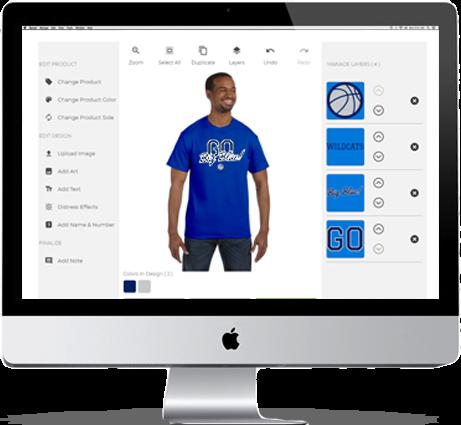 Design Custom School Spiritwear T-Shirts, Hoodies & Team ...